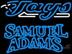 Samuel Adams Double Line Toronto Blue Jays MLB Neon Sign