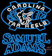 Samuel Adams Double Line Unc North Carolina Tar Heels MLB Neon sign