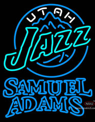 Samuel Adams Double Line Utah Jazz NBA Neon Sign