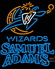 Samuel Adams Double Line Washington Wizards NBA Neon Sign