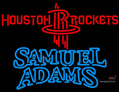 Samuel Adams Double Line Houston Rockets NBA Neon Sign