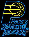 Samuel Adams Double Line Indiana Pacers NBA Neon Sign