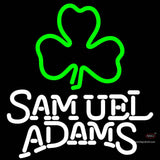 Samuel Adams Green Clover Neon Beer Sign x