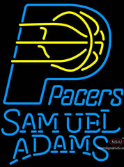 Samuel Adams Indiana Pacers NBA Neon Sign