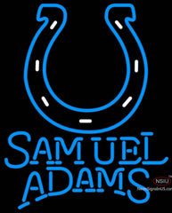 Samuel Adams Single Line Indianapolis Colts NFL Neon Sign  7