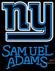 Samuel Adams Single Line New York Giants NFL Neon Sign