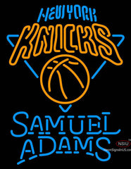 Samuel Adams Single Line New York Knicks NBA Neon Sign