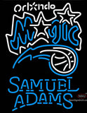 Samuel Adams Single Line Orlando Magic NBA Neon Sign
