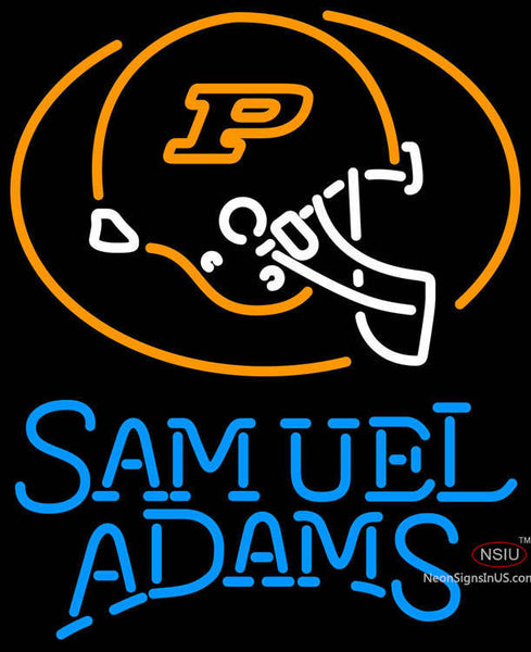 Samuel Adams Single Line Purdue University Calumet Neon Sign
