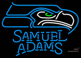 Samuel Adams Single Line Seattle Seahawks NFL Neon Sign  7