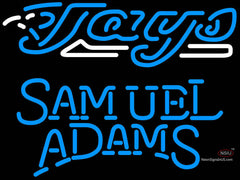 Samuel Adams Single Line Toronto Blue Jays MLB Neon Sign