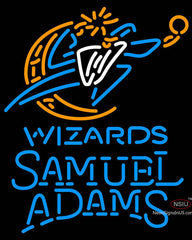 Samuel Adams Single Line Washington Wizards NBA Neon Sign
