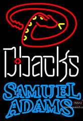 Samuel Adams Double Line Arizona Diamondbacks MLB Neon Sign