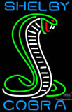 Shelby Tall Green Cobra Neon Sign