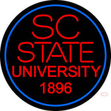 South Carolina State Alternate  Pres Logo Ncaa Neon Sign