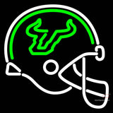 South Florida Bulls Helmet  Pres Logo Ncaa Neon Sign  x