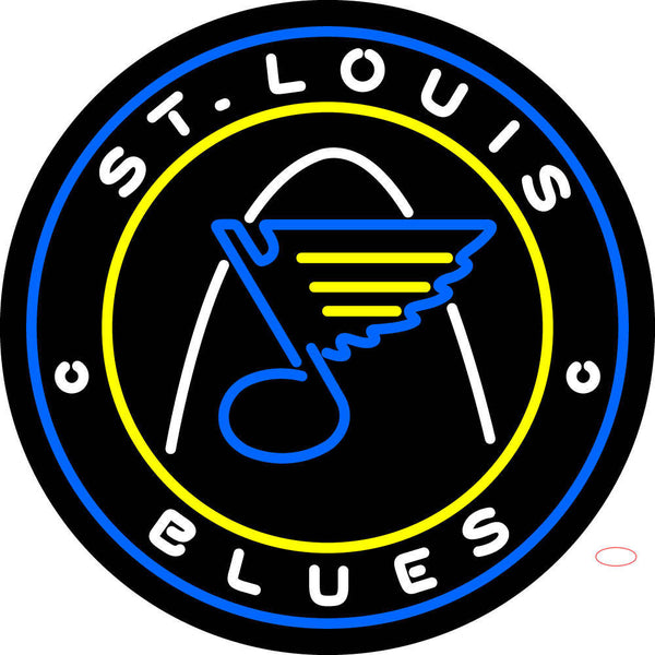 St Louis Blues Jersey   Pres Logo  NHL Neon Sign