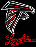 Strohs Atlanta Falcons NFL Beer Neon Sign