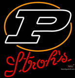Strohs Purdue UNIVERSITY Boilermakers Helmet Neon Sign  7 x