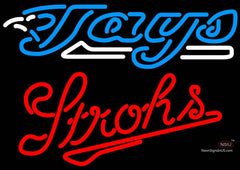 Strohs Toronto Blue Jays MLB Beer Neon Sign