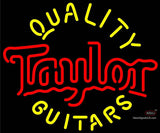 Taylor Quality Guitars Neon Sign x