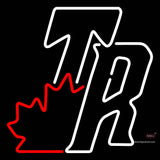 Toronto Raptors Alternate   7  Logo NBA Neon Sign