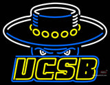 Uc Santa Barbara Gauchos Team Neon Sign
