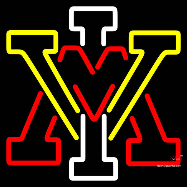Vmi Keydets Secondary  Pres Logo Ncaa Neon Sign x