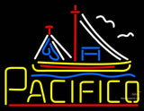 Yellow Pacifico Neon Sign