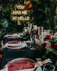 You Had Me At Hello Wedding Home Deco Neon Sign