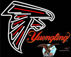 Yuengling Atlanta Falcons NFL Neon Sign