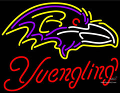 Yuengling Baltimore Ravens NFL Beer Neon Sign