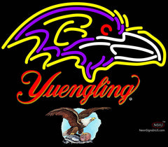 Yuengling Baltimore Ravens NFL Neon Sign