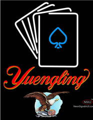 Yuengling Cards Neon Sign