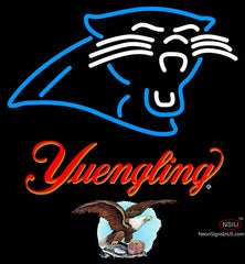 Yuengling Carolina Panthers NFL Neon Sign