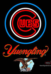 Yuengling Chicago Cubs MLB Neon Sign
