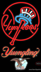Yuengling New York Yankees MLB Real Neon Glass Tube Neon Sign