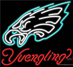 Yuengling Philadelphia Eagles NFL Beer Real Neon Glass Tube Neon Sign