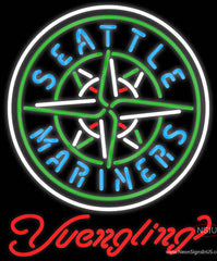 Yuengling Seattle Mariners MLB Beer Real Neon Glass Tube Neon Sign