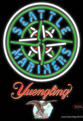 Yuengling Seattle Mariners MLB Real Neon Glass Tube Neon Sign