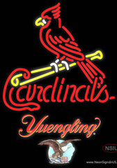 Yuengling St Louis Cardinals MLB Real Neon Glass Tube Neon Sign