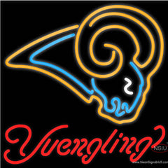 Yuengling St Louis Rams NFL Beer Real Neon Glass Tube Neon Sign x