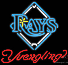 Yuengling Tampa Bay Rays MLB Beer Real Neon Glass Tube Neon Sign