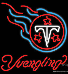 Yuengling Tennessee Titans NFL Beer Real Neon Glass Tube Neon Sign