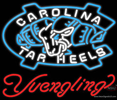 Yuengling UNC North Carolina Tar Heels Beer Real Neon Glass Tube Neon Sign