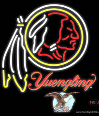 Yuengling Washington Redskins NFL Real Neon Glass Tube Neon Sign  7