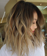 "Sassy (100% HH, 6"" LF Balayage Custom Ombre, 16""-18"" Length ~ Custom Collection)"