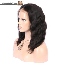 "Justice (150% Density Wavy Natural Black 100% Remy Human Hair 13x6 LF Wig 10""-18"")"