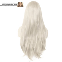 "Gaga (18""-28"" Silver Grey Synthetic Heat Safe Lace Front Wig)"