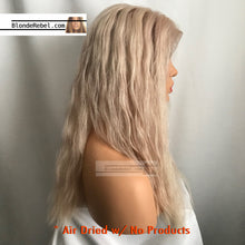 "Digi (100% HH, 6"" Lace Front Custom Unit & Color, 18""-20"" Length ~ Custom Collection)"